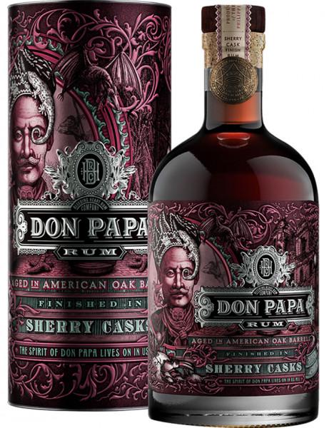 Don Papa Rum Sherry Cask, 0,7 l