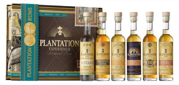 Plantation Experience Box Set mit 6x10cl
