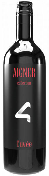 Aigner Collection Rotwein Cuvee, Jhg. 2019, 0,75 lt.